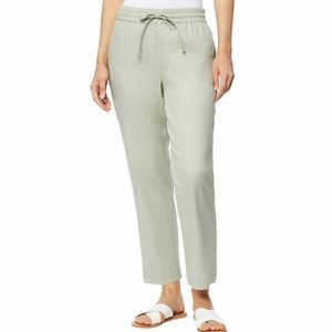NWT 32 Degrees Ladies Stretch Linen Blend Pant